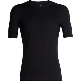 Icebreaker 200 Oasis SS Crew Shirt Men Black